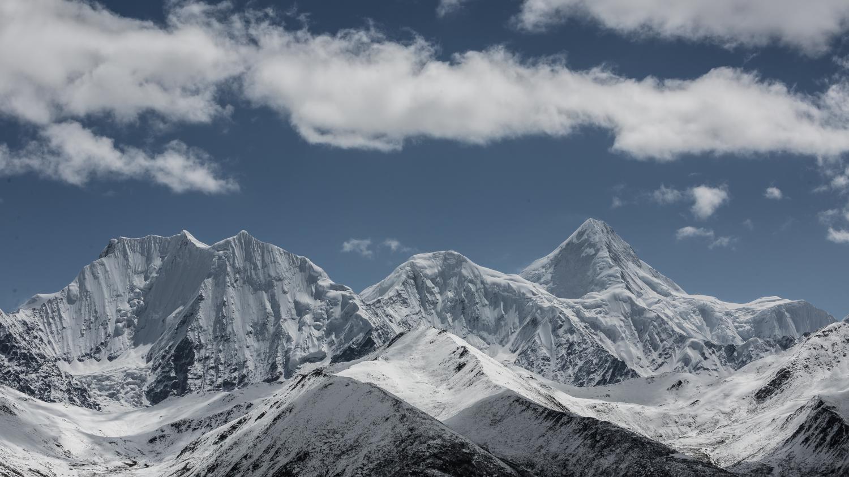 四川冬季自驾游去巴朗山,龙苍沟赏雪