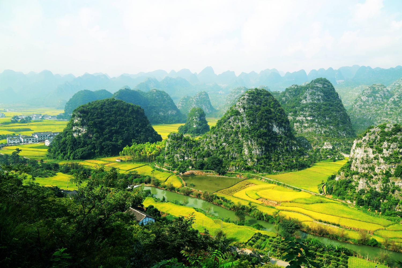 万峰林景区的最佳游玩路线