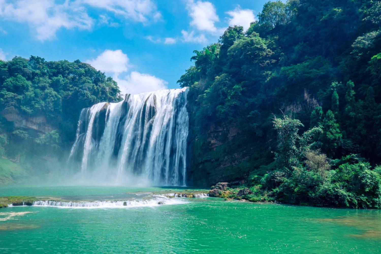 黄果树瀑布高清图片-黄果树瀑布游玩攻略