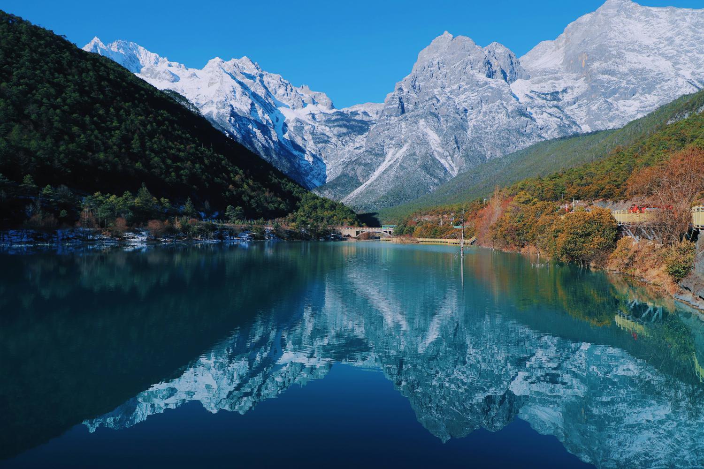重庆到云南自驾游路线攻略,蓝月谷,松赞林寺,虎跳峡