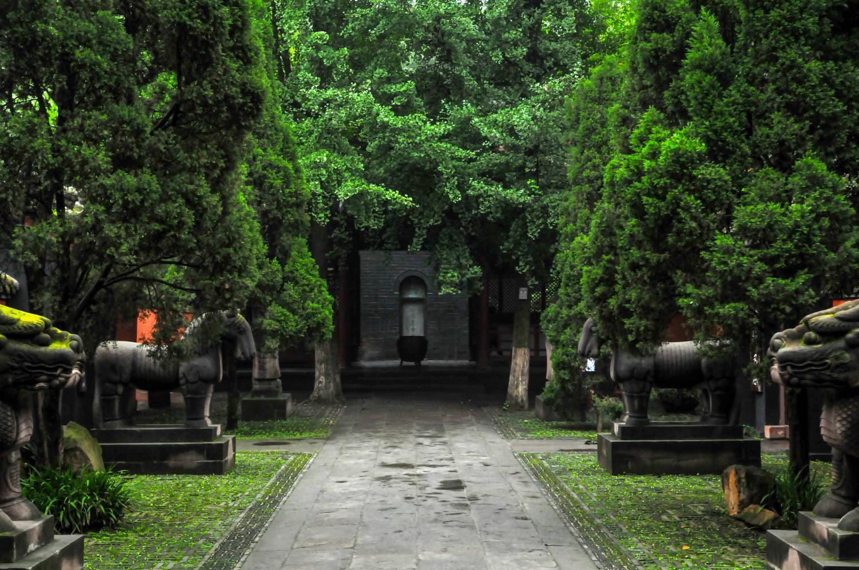 禅林圣地,成都文殊院