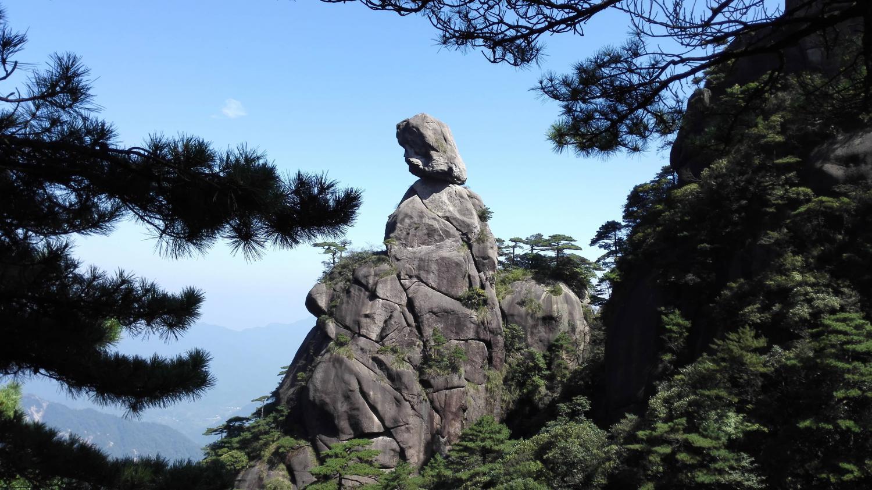 这一天,终点是三清山,三清山旅游