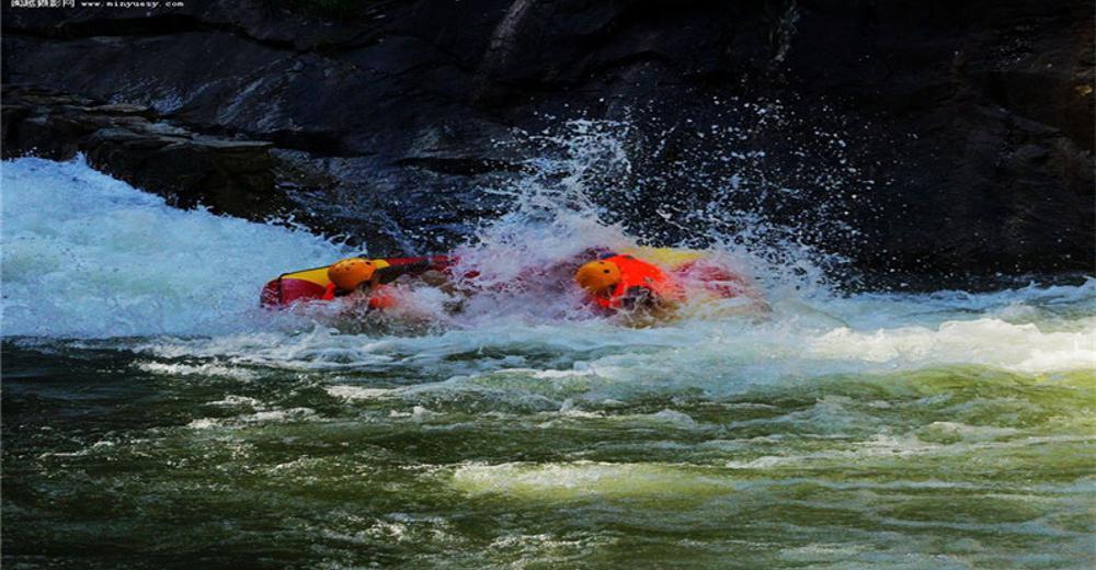 夏天最好玩的,霍山大峡谷漂流