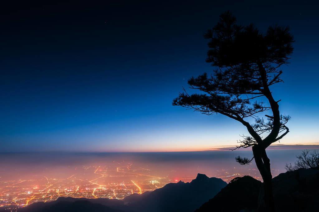 夜攀泰山,过泰山十八盘攻略记录