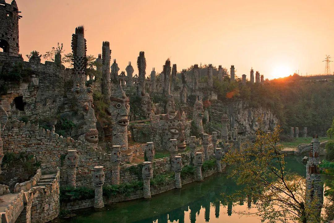 现代艺术品,贵州花溪夜郎谷,旅游攻略