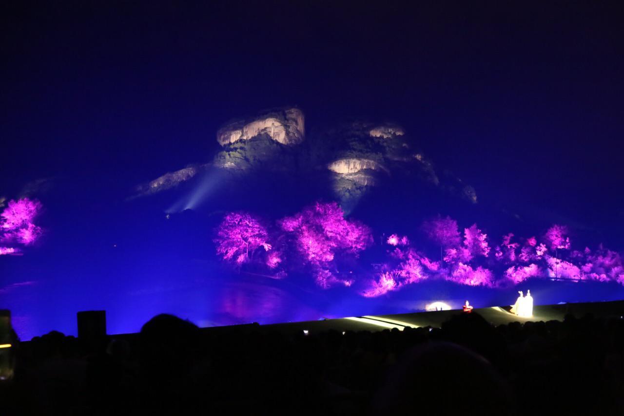 武夷山印象大红袍,越夜越好玩