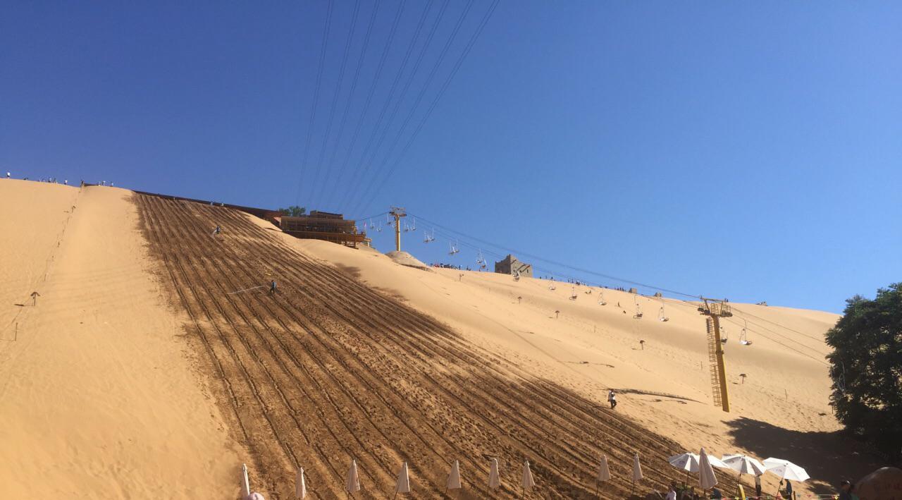 距离最近的沙漠,宁夏沙坡头