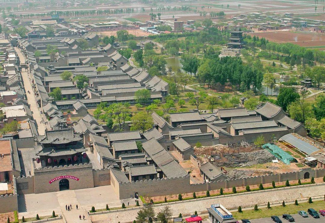 榆次老城,淋漓尽致的中式建筑美