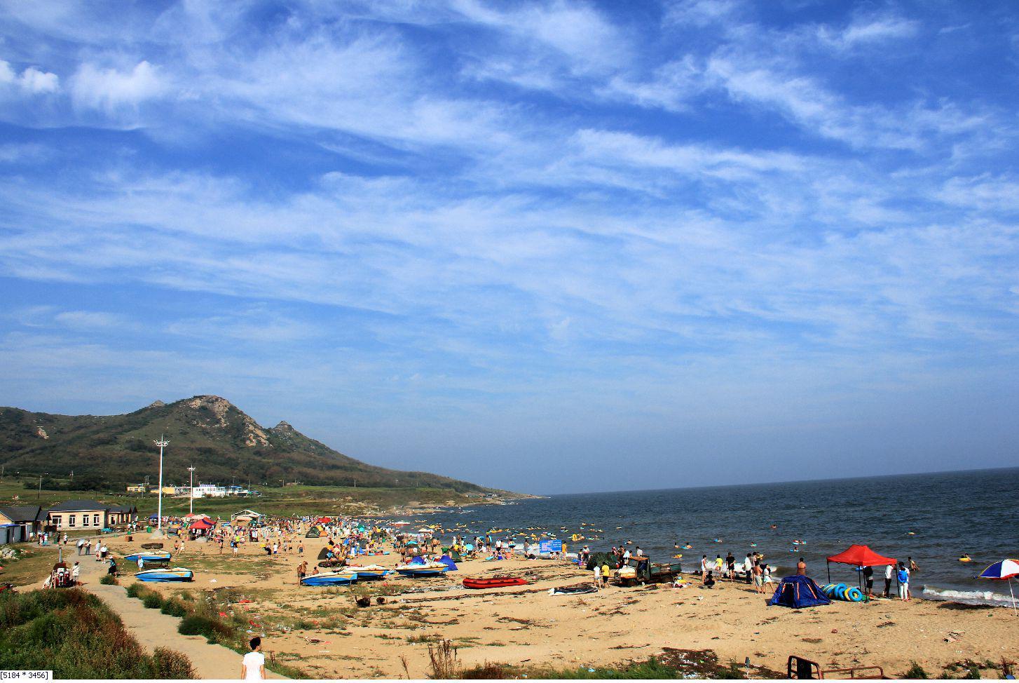 渤海湾里的小岛,菊花岛