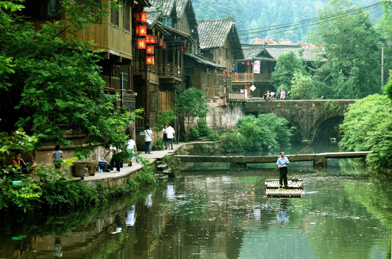 暑期带娃出游,四川成都周边,上里古镇